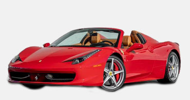 Ferrari 458 Spider Car Rental Atlanta