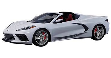 CChevrolet Corvette C8 (White) Car Rental